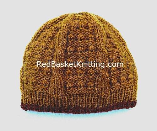 Textured Hat Knitting Pattern