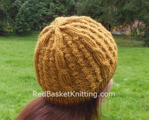 Textured Beanie Knitting Pattern