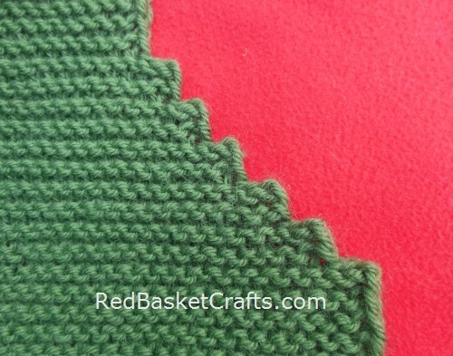 NOVICE Garter Stitch Vest Easy Knitting Pattern by Red Basket Crafts