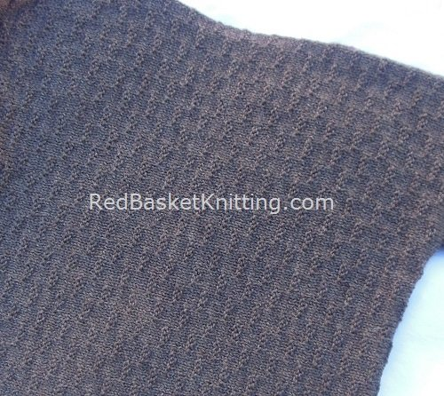 Knit Sweater Boucle Stitch