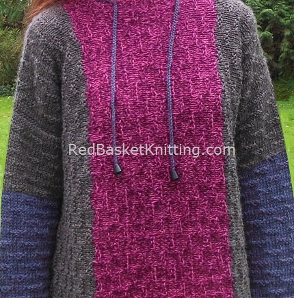 Relaxed-Fit Sweater Pattern Knitting