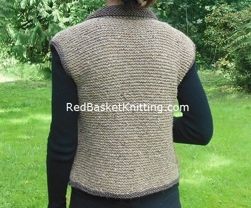 Wool Vest Knitting Pattern