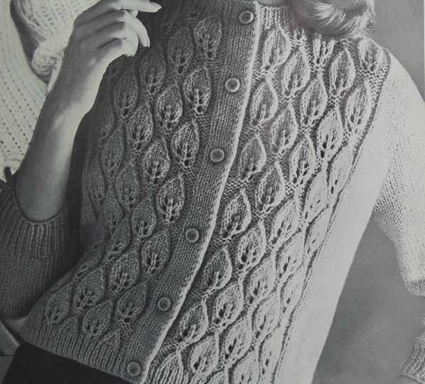 1960s Cardigan Knitted