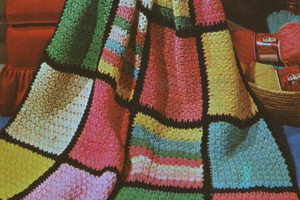 Afghan Blanket Vintage Free Crochet Pattern