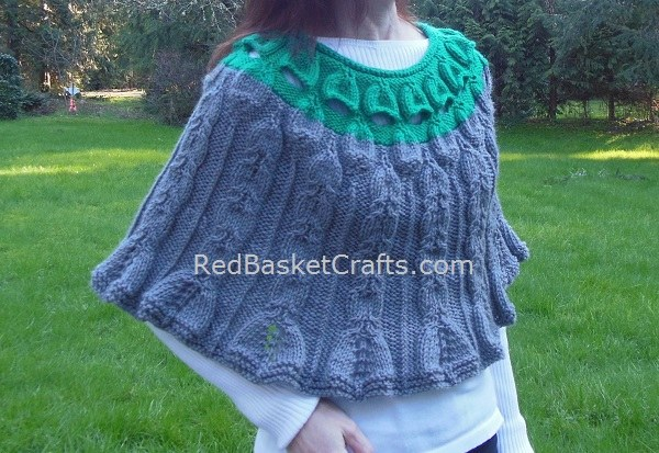 Foxglove Poncho Women's Knit
