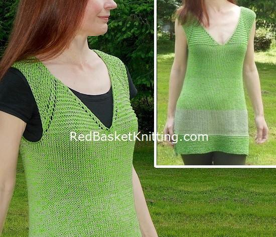 Knitted Tunic Free Pattern
