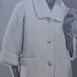 knitted Cardigan Buttoned Womens Vintage 1960s