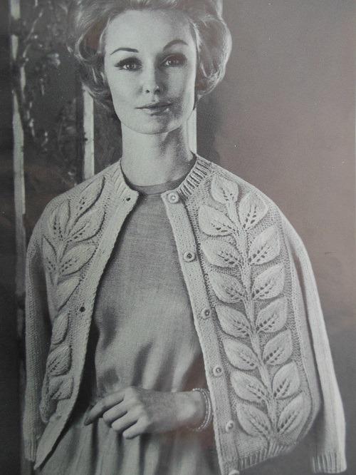 Vintage Cardigan Pattern