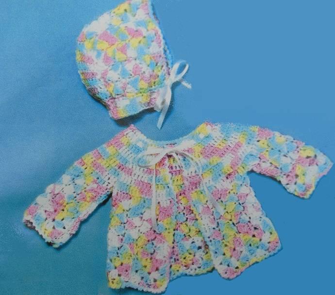 Crochet Jacket Hat Pattern