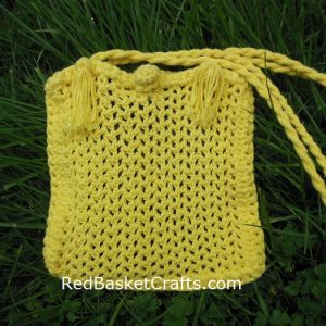 Crochet Mesh Bag Pattern