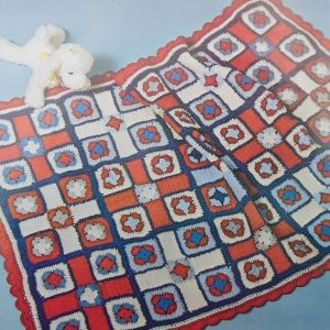 Crocheted Baby Blanket Pattern