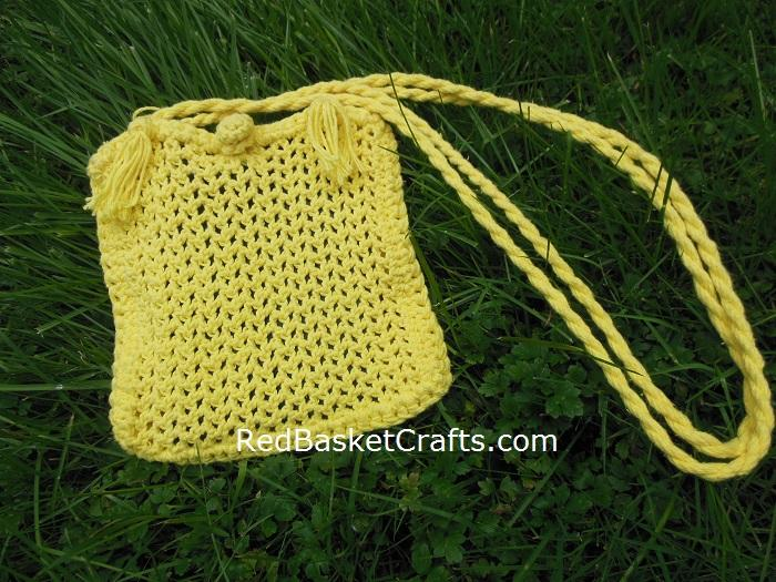 Mesh Purse Crochet Pattern