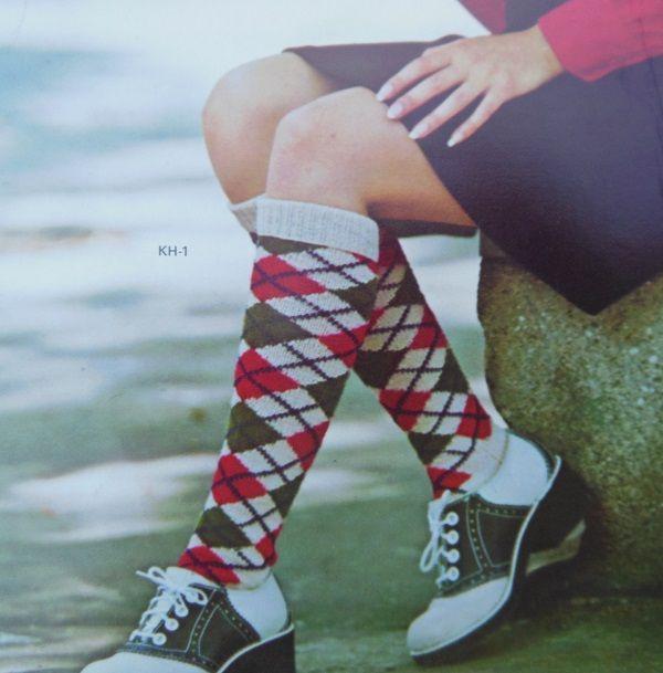 Socks Style kh-1 Knitting Pattern