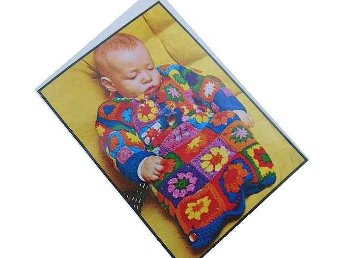 Baby Bunting Crochet Pattern Granny Squares