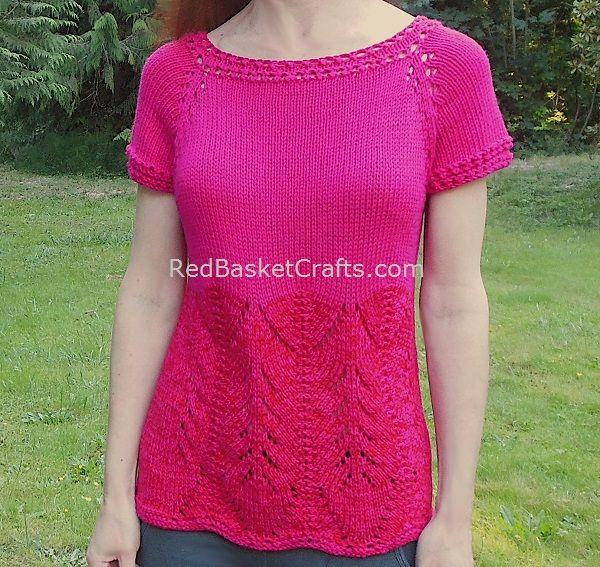 Azalea Summer Top Knit