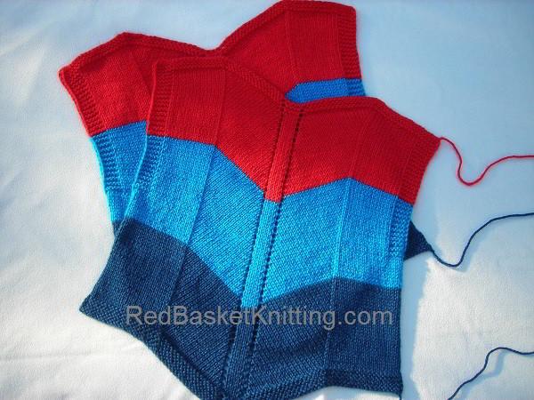 Summer Vest Knitting