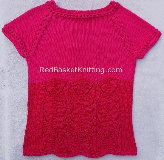 Knitted Top Pattern
