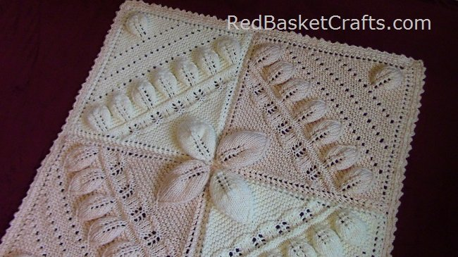 Canopy Blanket Pattern by Red Basket Crafts ~