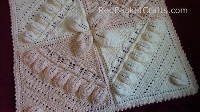 Canopy Blanket Red Basket Crafts ~