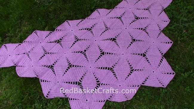 Malva Shawl Crochet Pattern