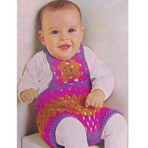 Bib Shorts Toddler Crochet Pattern