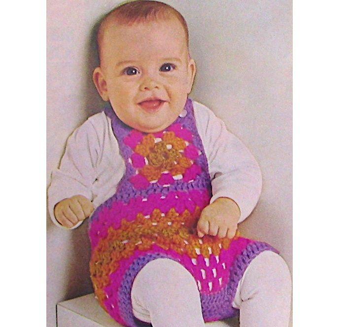 Bib Shorts Toddler Crochet Pattern