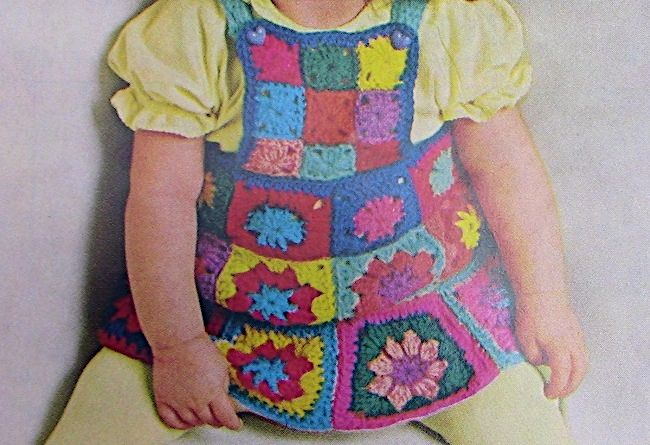 Bib Skirt Crochet