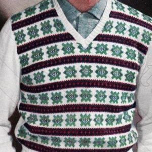 Men's Vest Knitting Pattern