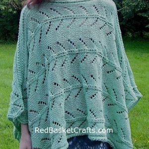 Summer Knit Poncho