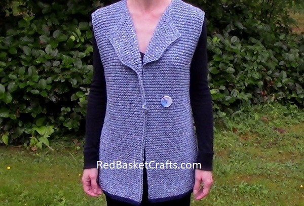 Beginner Vest Knitting Pattern
