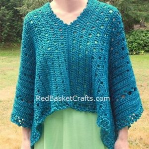 Sweet Pea Wrap Crochet Pattern