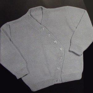 Baby Cardigan Vintage Knitting Pattern
