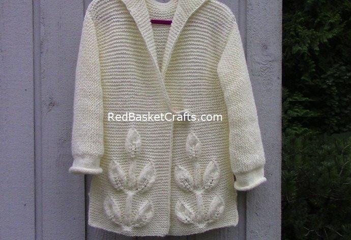 Leaf Stitch Knitting Pattern