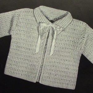 Baby Vintage Crochet Pattern 3843