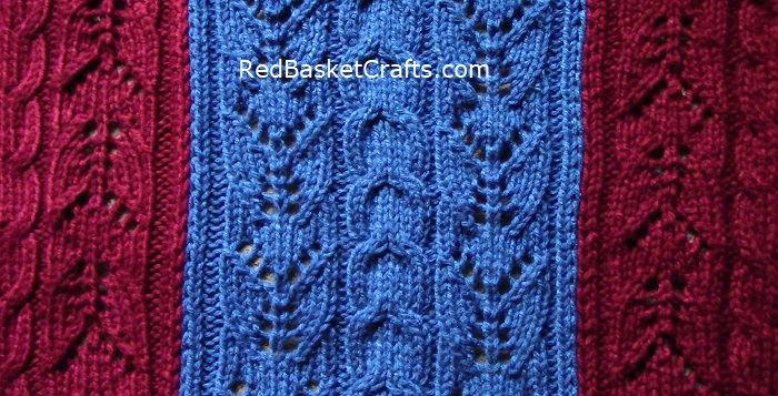 Lush Blanket Pattern Knitting