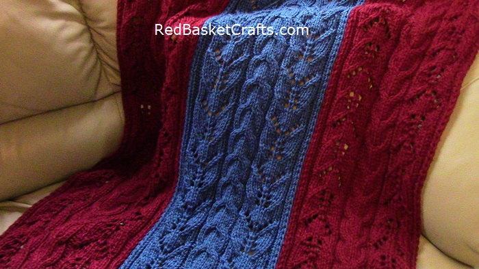 Lush Throw Knitting
