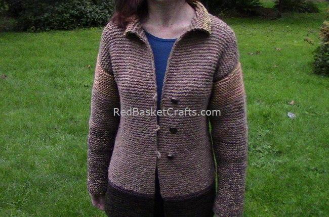 Knit CardiganKnitting Pattern