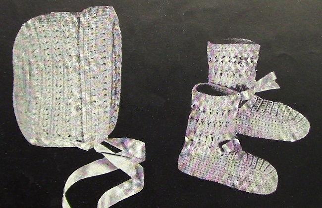 Vintage Crochet Pattern 3843