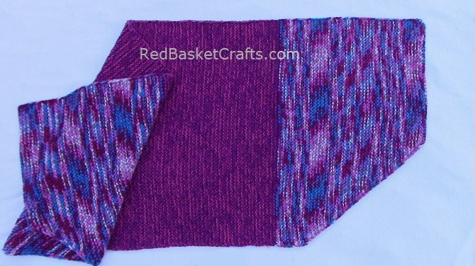Fireplace Shawl by Red Basket Crafts