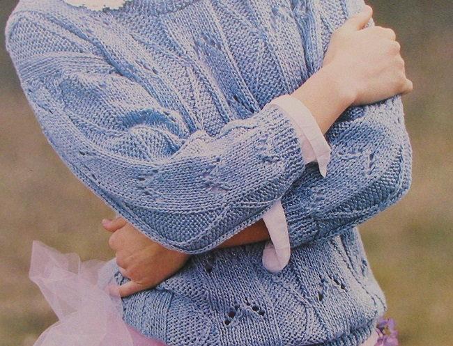 Sky Blue Pullover Pattern