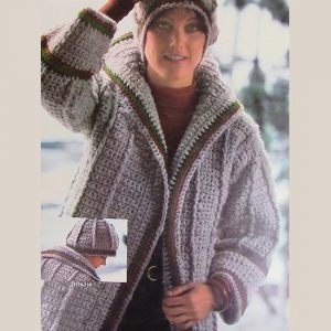 Walk Cardigan Hat Crochet