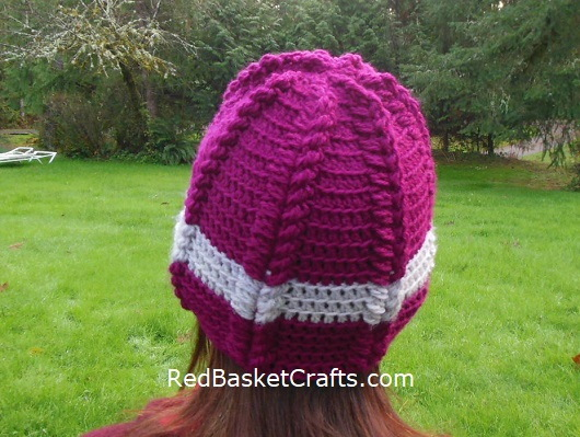 Ribbed Crochet Hat Kids, Teen, Adult