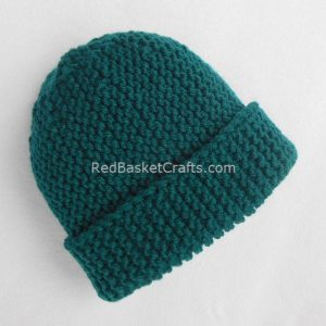 Beginners Pattern - Garter Beanie Hat
