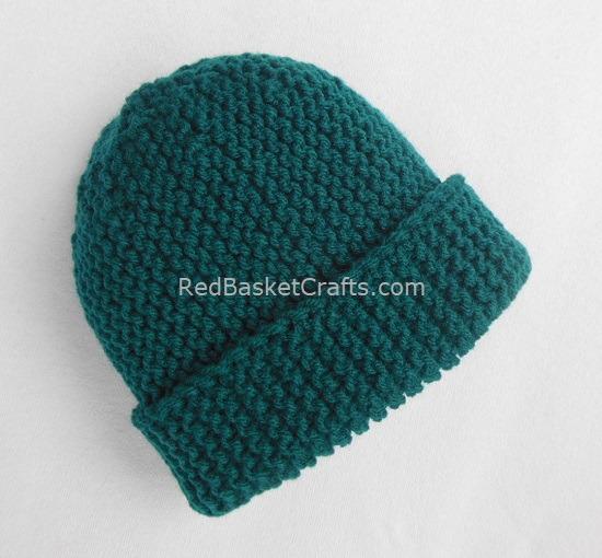 Beginners Pattern - Garter Beanie Hat