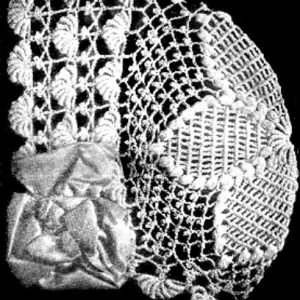 Baby Bonnet Crochet 1916 Vintage Pattern