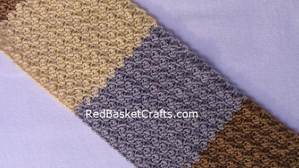 Bud Crochet Easy Pattern Worsted Yarn