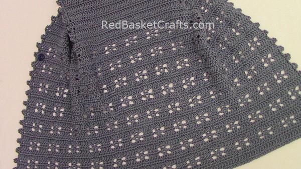 Easy Vest Pattern Double Crochet Chain Stitches