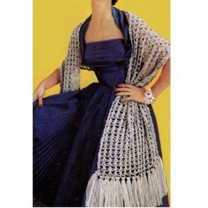 Crochet Scarf Vintage Pattern