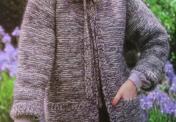 Buttonless Cardi Women's Pockets Easy Intermediate Pattern