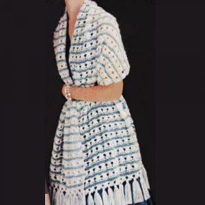 Lucille Stole Crochet Pattern - Easy Treble Stitches